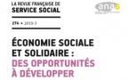 """RFSS N°274 : """"Économie sociale et solidaire : des opportunités à développer"""""""