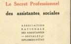 Le saviez-vous ? En 1947, l'ANAS publiait une brochure sur « le secret professionnel des assistantes sociales »