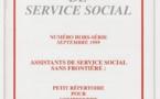 La Revue française de service social hors-série - Septembre 1999