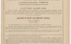 Feuillets de l'Association Nationale des Assistantes Sociales Diplômées d'Etat - Janvier-Mars 1949