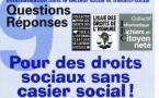 Brochure Informatisation dans le secteur social et médico-social : Pour des droits sociaux sans casier social - Novembre 1999