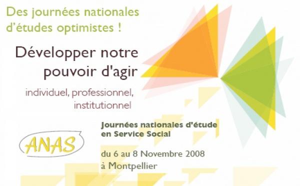 Journées Nationales d'Etude 2008 : infos et précisions
