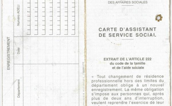 Enquête sur les cartes professionnelles des assistants de service social !