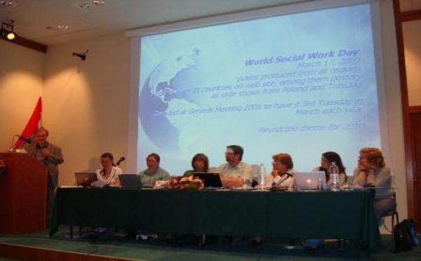 L'assemblée Générale de l'IFSW Europe (Fédération internationale des travailleurs sociaux) s'est tenue du 24 au 26 Avril en Croatie.