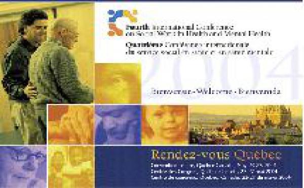 4ème conférence internationale du service social en santé et en santé mentale.