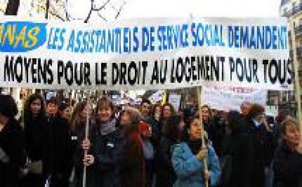 Droit au Logement : l'ANAS avec les collectifs Ile de France