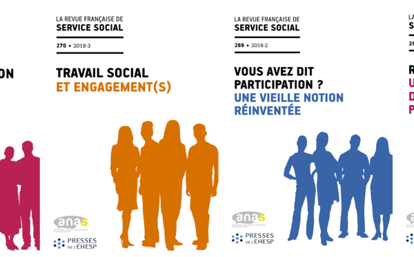 En 2019, (ré)abonnez-vous à la revue française de service social !