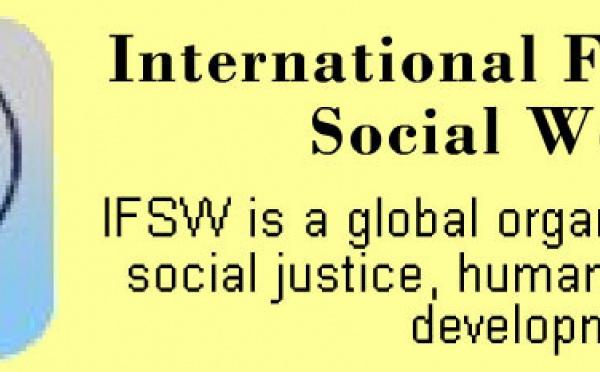 Intervention de l'ANAS au Congrès de l'International Federation of Social Workers (IFSW)  à Stockolm